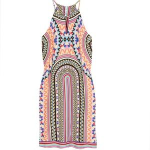 Renee C Printed Dress